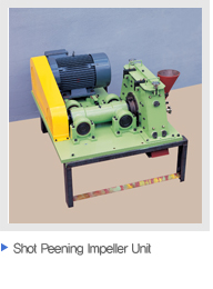Shot Peening Impeller Unit